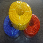 Twisted colorful PE rope