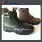 PU injection unisex gender safety boots steel toe safety shoes