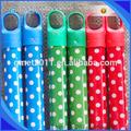 Colores de pvc revestido de madera de palo de escoba/de madera de palo de escoba con colores de la tapa