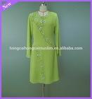 Elegant chiffon muslim dress hot selling trendy abaya