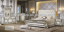 European style modern noble cheap king size bedroom furniture