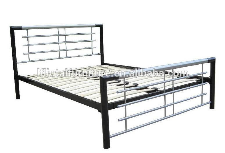 Harga Frame Gambar Hitam Logam Bed Frame / Harga