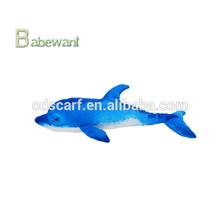 Wholesale - 90cm Blue Dolphin Plush Toy Stuffed Animal Pillow Cushion Doll kid toy