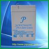 6V 5.4 AH VRLA rechargeable backup batteries for emergency lighting