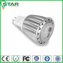 mr16 gu5.3 high lumens CE&RoHs led bulb 3*2W DC12V for home spotlight