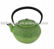Cast iron enamel coating teapot