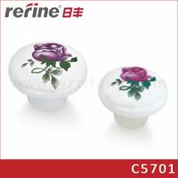 Ceramic knob for furniture