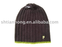 customized winter bobble beanie