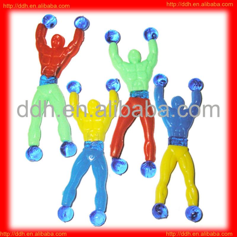 plastic sticky crawler toy/cheap toy