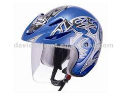 motorcycle accessory half face helmet