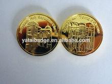 jerusalem-Holy sepulchre gold coin