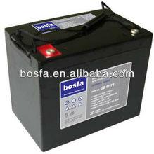 GB12-75 12v75ah lead acid battery 12v 75ah agm batteries china sealed lead acid battery (12v, 24v)
