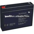 Gb6-7.5 6v7.5ah seladas de chumbo ácido selada bateria 6v 7.5ah 6 volt bateria recarregável bateria 7.5ah