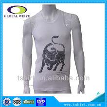 Custom logos stringer tank top men made in China stringer singlet