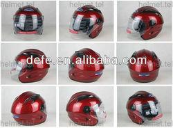Silver DOT Open Face safety Helmet DF-612