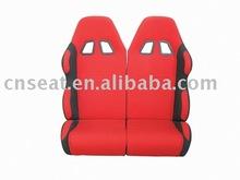 adult double pvc leather 2 go kart racing seat