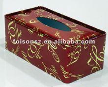 cute and pretty rectangular tissue tin box