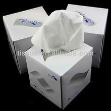 Cube box tissue