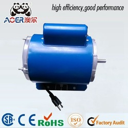high rpm electrical singl phase air motor