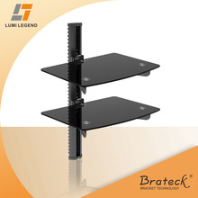 Wall Mount Dual DVD Stand/Rack