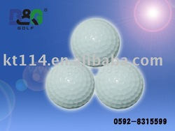 quality two layer practice golf ball