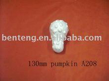 2013 promotional craft decorative artificial white pumpkin