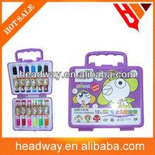 Fibre tip Water Color Pen in the plastic box
