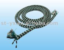 lead braided rope