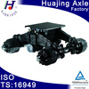 Bogie suspension with High quality axle