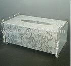 Acrylic Tissue Box Display / Acrylic Napkin Holder