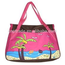 Fashion large waterproof beach bags beach tote bag