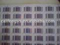 Privado de la etiqueta de código de barras, número de serie,/el logotipo de la etiquetaimpresa