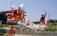 weifang dragon kite/Dragon Cluster Kite For Profesional/chinese dragon kite