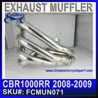 Titanium muffler exhaust for CBR CBR1000RR 2008 2009 FCMUN071