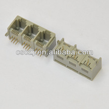 Muti-port Side entry RJ12 telephone connector/Jack