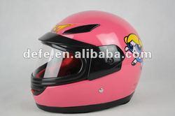 DOT Standard Girl Full Face Helmet DF-221