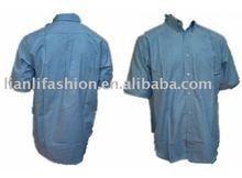 2013 mens fashion woven t shirt
