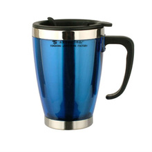Double Wall Plastic Travel Mug Tumbler Thermals Cup
