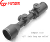 Riflescope 3-9X42E Compact Long Eye Relief Rifle Scope Red / Green Illuminated Rifle Scopes (For AR-15, M-16 Crossbows And More)