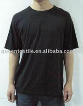 Men's Bamboo Fabric Reglan Sleeve Eco-friendly blank t-shirt