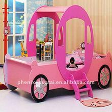 MDF princess car bed