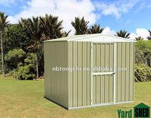 garden steel shed