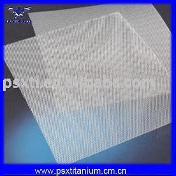 perforated Titanium Mesh Sheet