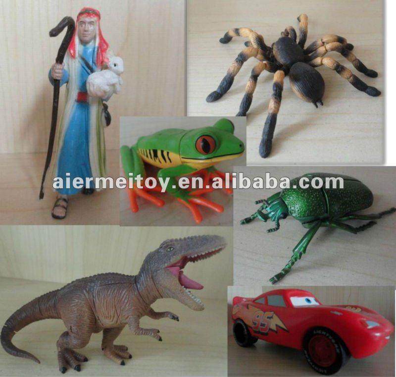 promosyon özel plastik küçük insanlar oyuncak oem aksiyon figürleri karakter karikatür figürü oyuncak