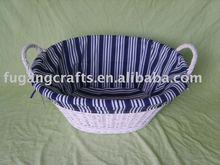 new design classic wicker bread basket