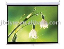 manual wall projector screen matte white OEM/Wall Mount Manual Pull Down Projection Screen
