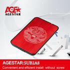 """AGESTAR 2.5"""" USB2.0 External HDD Enclosure:SUB2A8 hard disk case 2.5 inch hdd box"""