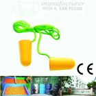 Corded earplug, foam ear plug MANUFACTURER