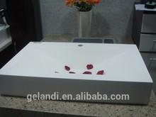 Acrylic Solid Surface Bathroom sinks and wash basins GX1006