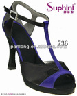 Latest 2013 women dancing shoes evening shoes blue